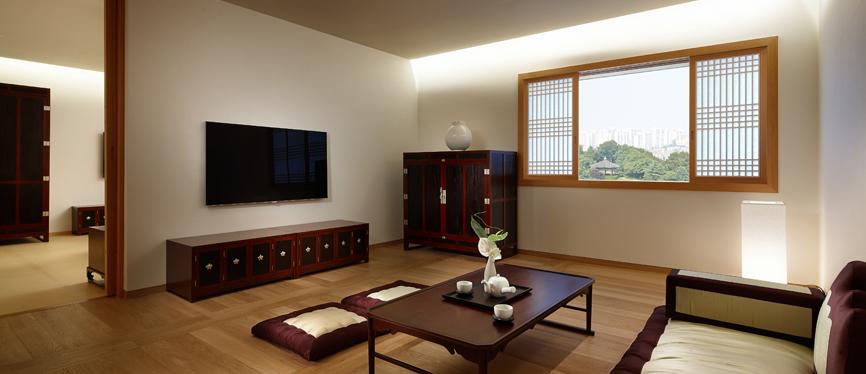 Accommodation korean for Korean living room design