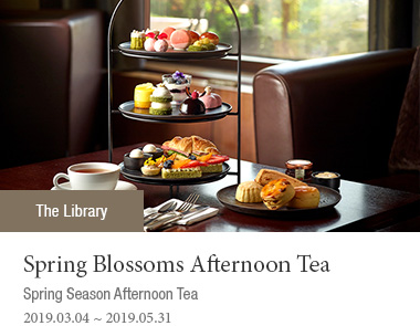 Spring Blossoms Afternoon Tea