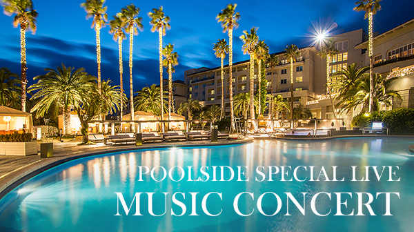 Poolside Special Live Music Concert