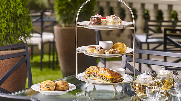Golden Autumn Afternoon Tea