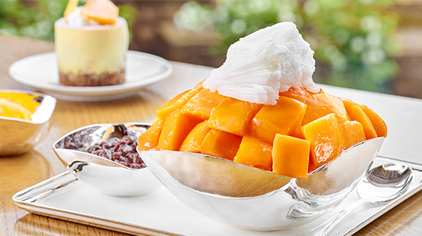 [ITE]Holiday With Apple Mango Bingsu