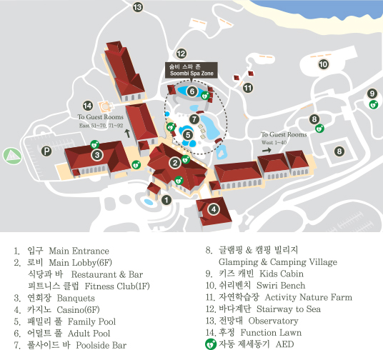 Outdoor Facility Map