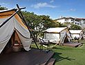 <p>Savor special moments with a high-class glamping barbecue in the hotel's beautiful garden.</p>